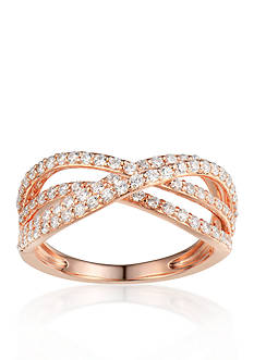Belk & Co. Diamond Ring in 14k Rose Gold