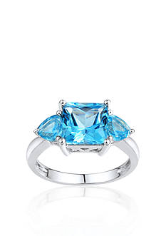 Belk & Co. Sterling Silver Swiss Blue Topaz Ring