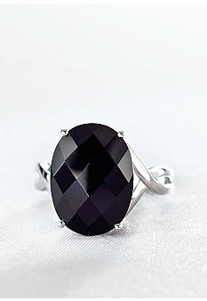 Belk & Co. Sterling Silver Onyx Ring