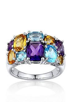 Belk & Co. Sterling Silver Multi Gemstone Ring
