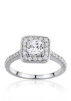 Belk & Co. 1.25 ct. t.w. Diamond Engagement Ring in 14k White Gold