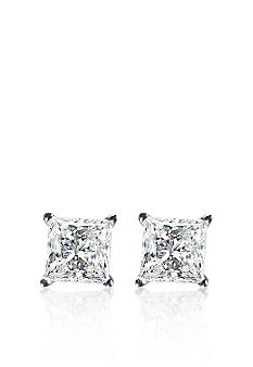 Belk & Co. 1 ct. t.w. Princess Cut Diamond Stud Earrings