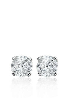 Belk & Co. 1.00 ct. t.w. Diamond Stud Earrings in 14k White Gold