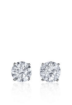 Belk & Co. 1 1/2 ct. t.w. Diamond Stud Earrings