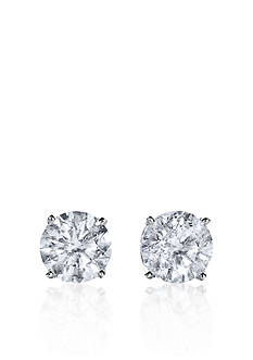 Belk & Co. 1.5 ct. t.w. Diamond Stud Earrings in 14k White Gold