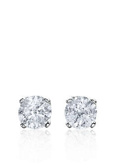 Belk & Co. 2.00 ct. t.w. Diamond Stud Earrings in 14k White Gold