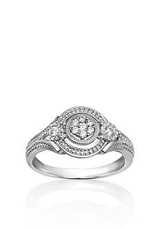Belk & Co. Diamond Promise Ring in 10k White Gold