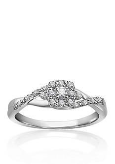 Belk & Co. Diamond Promise Ring in 10k White Gold