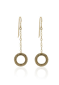 Belk & Co. 14k Yellow Gold Dangle Earring