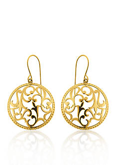 Belk & Co. 10k Yellow Gold Earrings