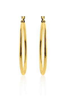 Belk & Co. 14k 35mm Hoop Earrings