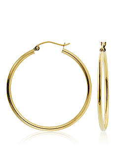 Belk & Co. 14k Hoop Earring