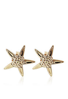 Belk & Co. 14K Starfish Stud Earring