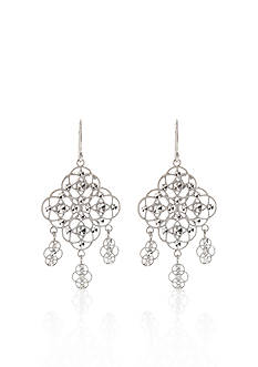 Belk & Co. Sterling Silver Chandelier Earring