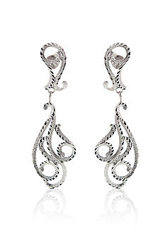 Belk & Co. Sterling Silver Filigree Earrings