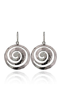 Belk & Co. Sterling Silver Swirl Earrings