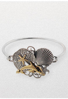 Belk & Co. Sea Life Bangle Bracelet