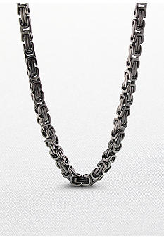 Belk & Co. Stainless Steel Byzantine Chain
