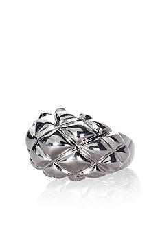 Belk & Co. Sterling Silver Quilted Ring