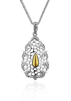 Belk & Co. Sterling Silver Tear Drop Pendant
