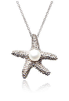 Belk & Co. Sterling Silver Pearl Starfish Pendant