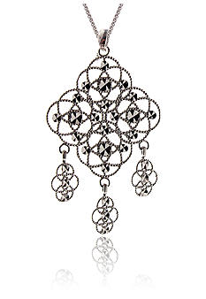 Belk & Co. Sterling Silver Chandelier Pendant