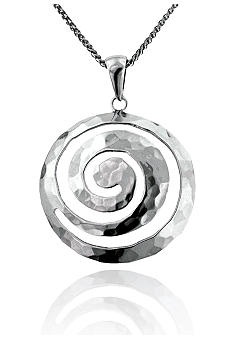 Belk & Co. Sterling Silver Swirl Pendant Necklace