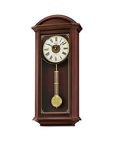 Seiko Contemporary Classics Brown Pendulum Wall Clock