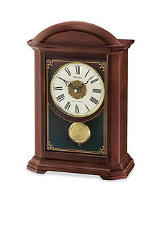 Seiko Contemporary Classics Brown Pendulum Mantle Clock