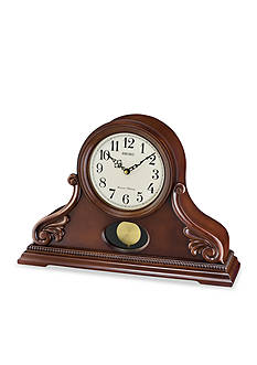 Seiko Contemporary Classics Tambour Mantle Clock with Pendulum