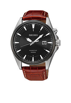 Seiko Men's 100 Meter Kinetic Sports Watch