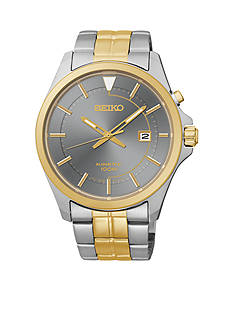 Seiko Men's Two-Tone Kinetic Watch