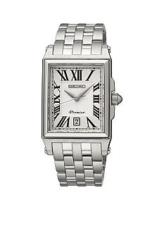 Seiko Men's 100 Meter Stainless Steel Premier Watch