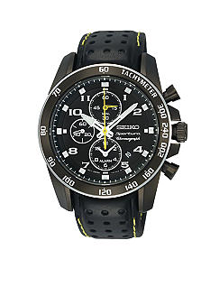 Seiko Men's 100 Meter Sportura Alarm Chronograph Watch