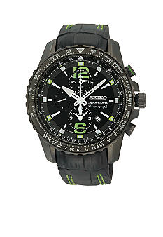 Seiko Men's 100 Meter Sportura - Aviator Alarm Watch