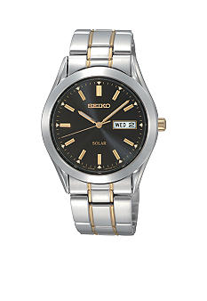 Seiko Mens Two Tone Solar