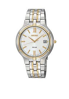 Seiko Mens Two Tone Solar Watch