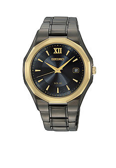 Seiko Men's 50 Meter Solar Dress Watch