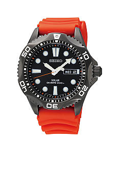 Seiko Men's 200 Meter Solar Diver Watch
