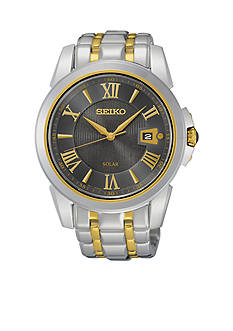 Seiko Men's Two Tone Le Grand Sport Solar Watch