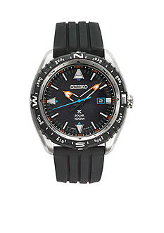 Seiko Men's Prospex Solar Black Dial Watch