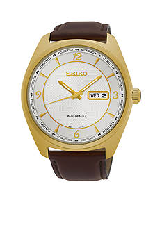 Seiko Men's Recraft Gold-Tone Watch