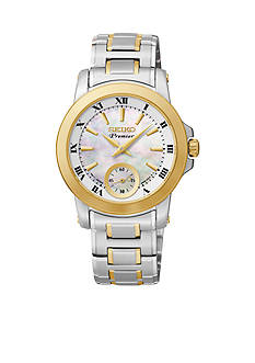 Seiko Women's Stainless Steel Two-Tone Quartz Watch