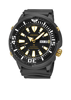 Seiko Prospex Black Ion Finish Automatic Divers Watch