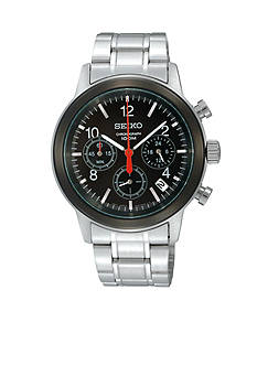 Seiko Men's 100 Meter Stainless Steel Special Value Chronograph