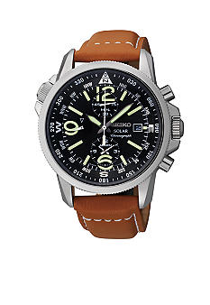 Seiko Men's 100 Meter Solar Adventure Chronograph watch