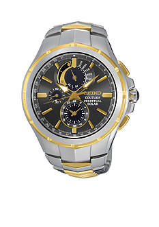 Seiko Men's Coutura Solar Perpetual Chronograph Watch