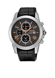 Seiko Men's Le Grand Sport Solar Alarm Chronograph Watch