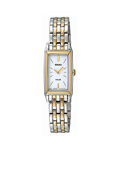 Seiko Ladies 30 meter Two Tone Solar Watch