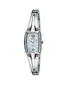 Seiko Ladies 30 Meter Stainless Steel Solar Tressia Watch